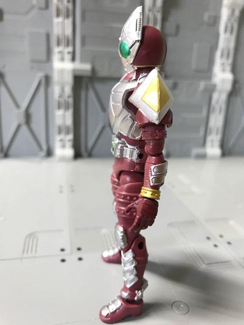 SHODO-O 仮面ライダーギャレンの左側面