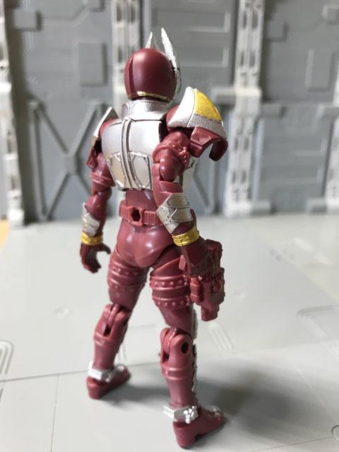 SHODO-O 仮面ライダーギャレンの裏面