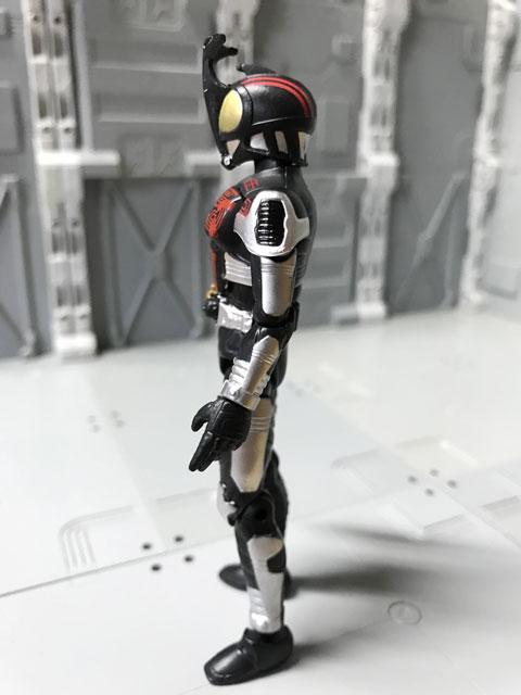 SHODO-O 仮面ライダーダークカブトの左側面