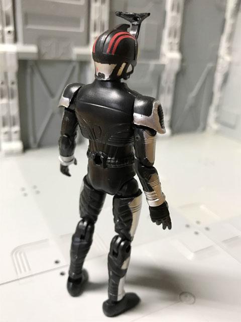 SHODO-O 仮面ライダーダークカブトの裏面