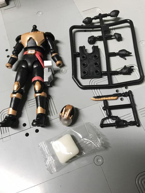 SHODO-O ライオトルーパーの箱の中身