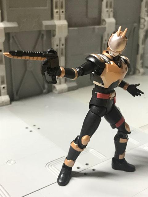 SHODO-O ライオトルーパー 銃を構えるポーズ1