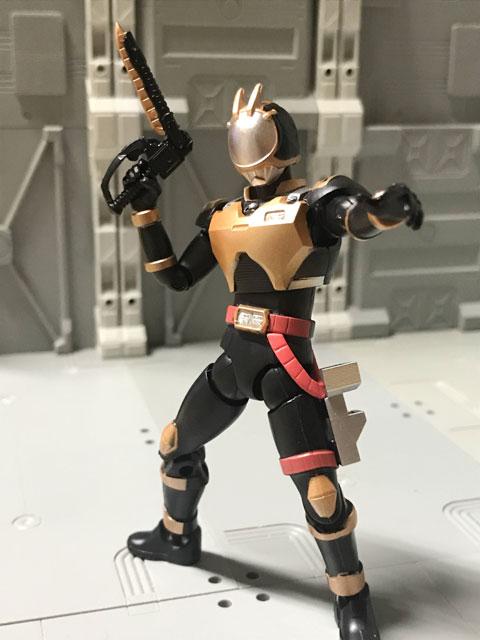SHODO-O ライオトルーパー 銃を構えるポーズ2