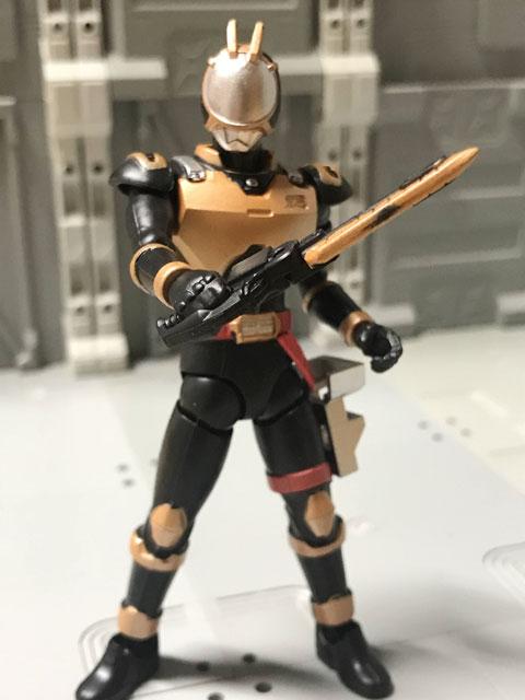 SHODO-O ライオトルーパー 剣を構えるポーズ1