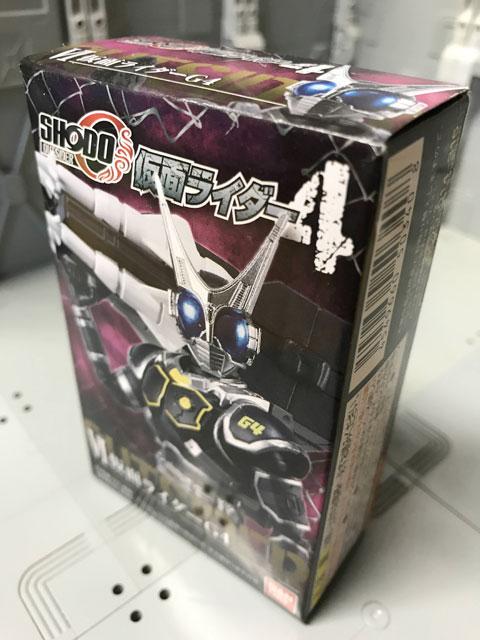 SHODO-O 仮面ライダーG4の箱の表