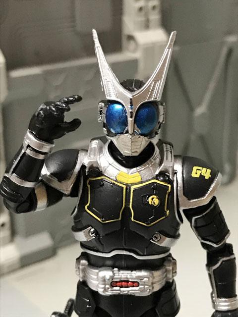 SHODO-O 仮面ライダーG4 右手を上げた上半身