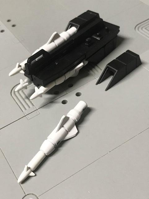 SHODO-O 仮面ライダーG4 ギガントのミサイルを一つ外した